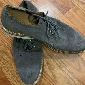Men's timberland suede laced oxfords 9